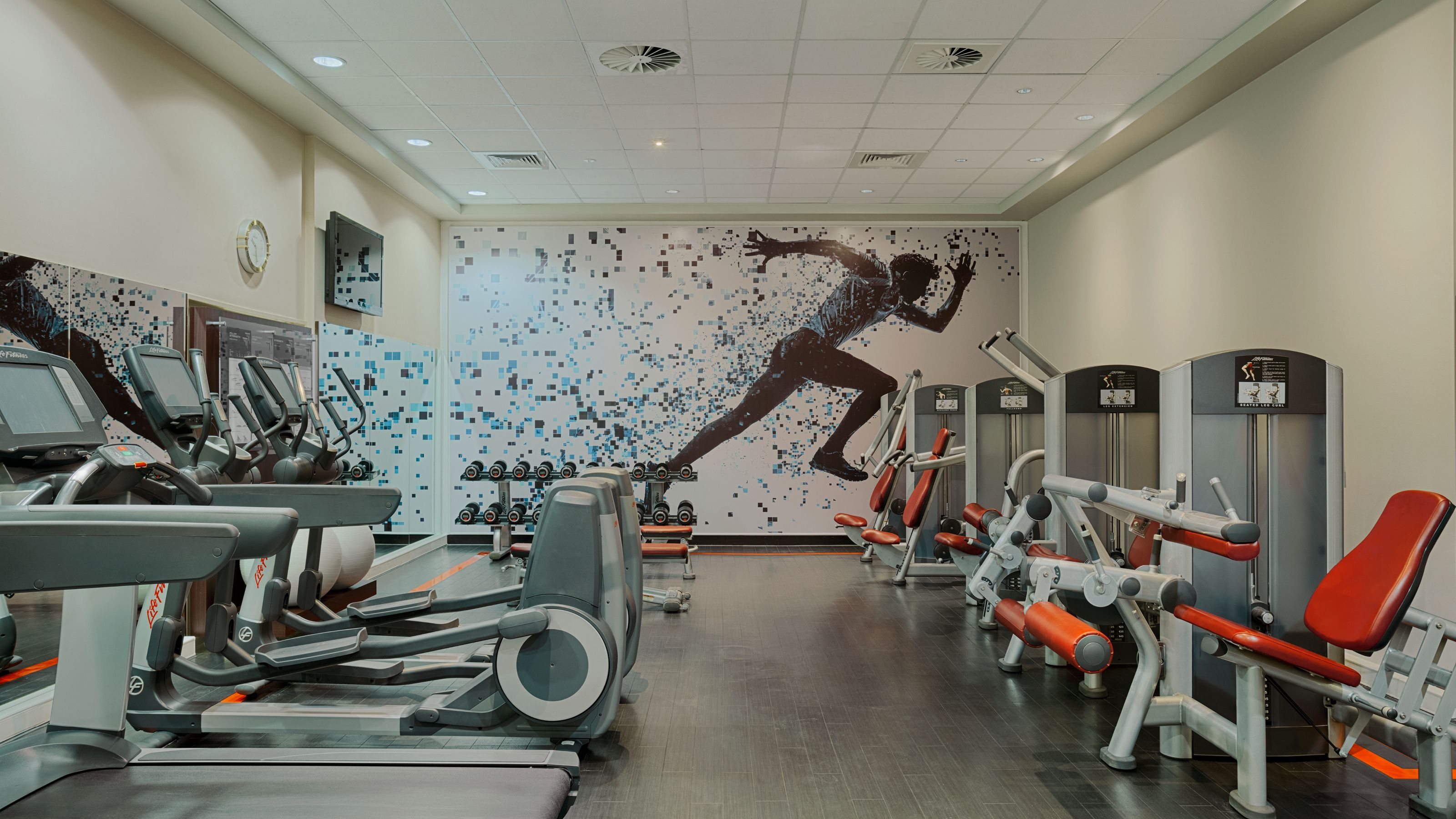 Fitness Center - Sheraton Brussels Airport Hotel
